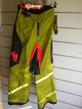 pantalon THOR kaki ENDURO cross mx taille usa 28 taille française 36 ref 12