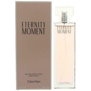 Eternity Moment by Calvin Klein, 3.4 oz EDP Spray for Women