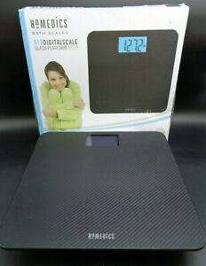 HoMedics 410 Digital Scale 13x13 Blue Light Sc-410 (D16-930)