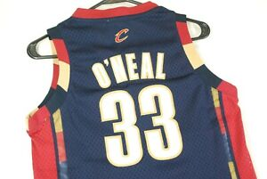 Vintage Shaquille Oneal Shaq Basketball Jersey Cleveland Cavaliers Youth Boys M