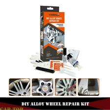 DIY Car Alloy Wheel Restoration Rim Damage Scrapes Scuff Repair Fix Tools Kits