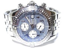 Breitling A13356 Chronograph Automatic Tachymetre Gray Dial Pilot Watch