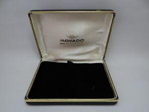Movado Watch Box Vintage 1960's