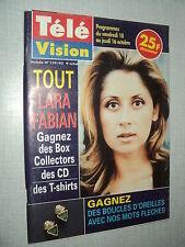 TELE VISION 159 (9/10/97) LARA FABIAN BRUNO WOLKOWITCH CELINE DION KINSKI PECK