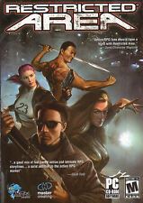 RESTRICTED AREA Cyber-Punk Action RPG PC Game NEW inBOX