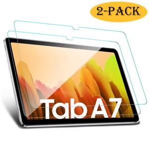 2x Samsung Galaxy Tab A7 10.4 T500 T505 Panzerfolie Display Schutz Glas Folie 9H