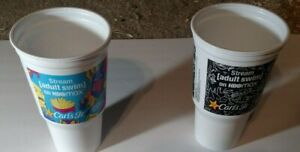 Hardee's Carl's Jr Adult Swim - 2 cups both versions (new)