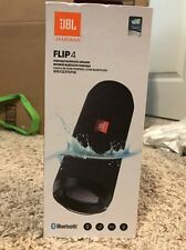 JBL Flip 4 Waterproof Portable Bluetooth Speaker / 12 Hours of Playtime | Black