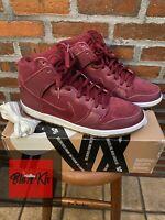 Nike Dunk High Pro SB, Team Red Filbert, Size 11.5