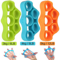 3Pack Finger Stretcher Hand Exercise Grip Strength Resistance Bands Training