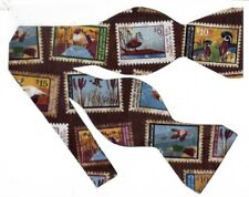 Duck Stamps Bow tie / Federal Duck Stamps / Migratory Birds / Self-tie Bow tie