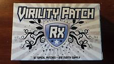 Virility Patch RX-10 Topical Patches-2 Box-2 Month Supply-Better Sex-Bigger Men