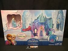 Disney Frozen Magical Lights Palace Mattel with Elsa and Olaf figures