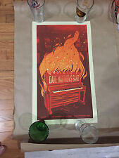Dave Matthews Band Poster Baltimore Md 12/18/12 Rare Piano Fire