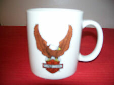 Official Harley Davidson Black w/ Eagle Mug Motorcycle Ceramic Cup