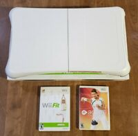 Nintendo Wii Fit Bundle w/ Balance Board, Wii Fit Game, Active Personal Trainer