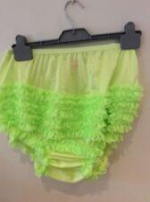 Sexy Apple Green  RUMBA, SISSY, SQUARE DANCE, AB   PANTIES large