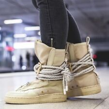 NIKE SF AF1 HI Air Force 1 High Trainers Boots - Rattan - UK Size 8.5 (EUR 43)