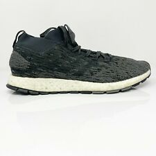 Adidas Mens Pure Boost RBL CM8313 Carbon Black Running Shoes Lace Up Size 11.5