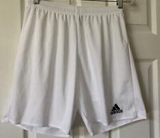 Addidas Women's White Climalite Shorts soccer tennis size Medium New