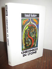 1st Edition CHRONICLE IN STONE Ismail Kadare FIRST PRINTING Fiction CLASSIC Rare