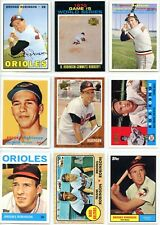 BROOKS ROBINSON - BASEBALL CARD COLLECTION - 113 DIFFERENT CARDS - FREE SHIPPING