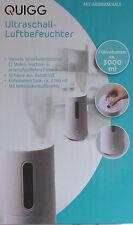 Ultraschall Luftbefeuchter mit Aromaschale Diffuser Lufterfrischer Luftreiniger