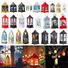 Xmas LED Teelicht Kerzen Weihnachten Dekoration Hängende Laterne Ornaments Lampe