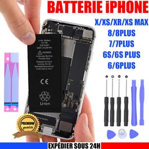 Batteria Per IPHONE 6 6S 7 8 Plus XR X XS Max Nuovo 100%