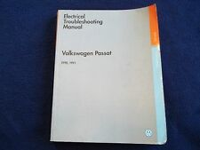 ~used 1990 1991 VW Volkswagen Passat Electrical Troubleshooting Service Manual