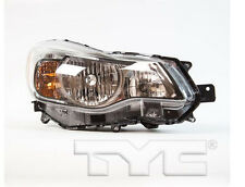 TYC NSF Right Side Halogen Headlight Assy For Subaru Impreza 2012-2014 Models
