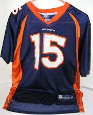 Tim Tebow Reebok OnField Sewn Jersey Denver Broncos 15 NFL Youth XL EUC