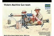 MasterBox MB3597 1/35 Vickers Machine Gun team North Africa