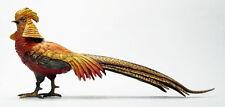 Wiener Bronze   Goldfasanen Vogel   Vienna Bronze  Golden pheasant bird