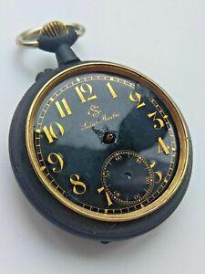 Antique Swiss Pocket Watch. Saint Martin
