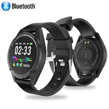 Bluetooth Smart Watch Fit Android IOS Waterproof Heart Rate Fitness Bracelet