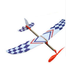 Flying Glider Planes Aeroplane Toys Rubber Band Development Childrens Gift
