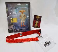Universal Studios Harry Potter Dobby Poseable Figure, Pin and Lanyard