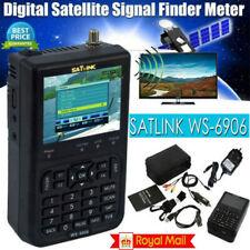 More details for satlink ws-6906 hd dvb-s2 digital satellite signal finder sat meter 3.5