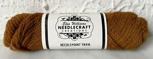 Vintage Elsa Williams Needlecraft Tapestry Wool Yarn - 1 Skein Brown #N301