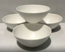 ZAK DESIGNS MELAMINE SALAD  / NOODLE FOOD BOWLS X 4