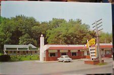 c1950s Adrian's Bar-B-Q Restaurant and Motel Rt 6 - 11 Chinchilla PA postcard
