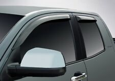 Tape-On Vent Visors for a 2007 - 2018 Toyota Tundra Double Cab