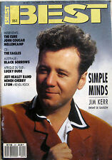 BEST 251 1989 Simple Minds Cure John Cougar Jeff Healey Eagles Neneh Cherry