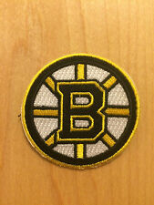 Boston Bruins Embroidered Iron On Sew On Patch  USA SELLER! 2 inches