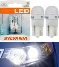 Sylvania LED Light 168 T10 White 6000K Two Bulbs Front Side Marker Replace JDM