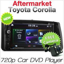 Car DVD USB Player Radio For Toyota Corolla 2002-2008 E120 E130 Stereo MP3 CD ET