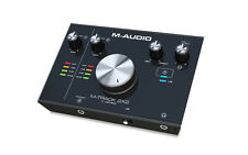 M-AUDIO M-TRACK 2X2 INTERFACCIA SCHEDA AUDIO USB MIDI Cubase LE Compreso PC MAC