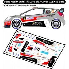 DECALS 1/43 FORD FIESTA WRC #22 - DUMAS - RALLYE DE FRANCE 2013 - MF-ZONE D43256