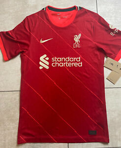 Nike Liverpool FC 21/22 Stadium Home Red Jersey Men's Small NWT $90